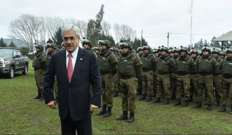 Chile-Seguridad Pública:  PIÑERA EN LA ENCRUCIJADA