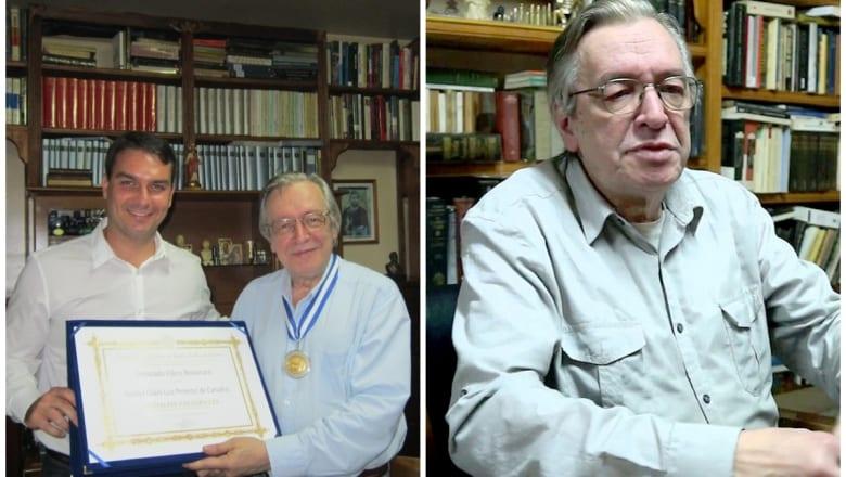 Olave de Carvalho: el gurú de Jair Bolsonaro