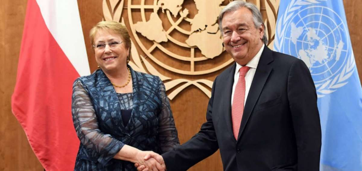 """""""Forzado"""" fue nombramiento de Bachelet como Alta Comisionada de los DDHH en la ONU – Quiza para darle la contra a Trump"""