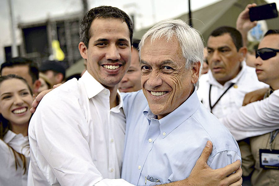 Un 44% por ciento de los chilenos rechaza el viaje de Piñera a Cúcuta