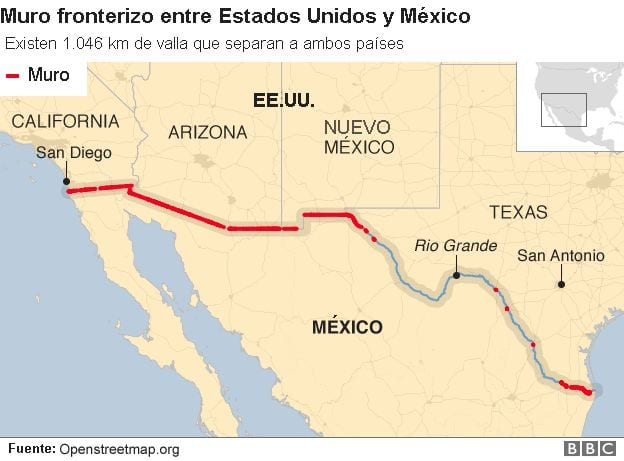 La cuenta de Trump a la nación: El muro con México, Maduro y Venezuela, China, y Corea del Norte
