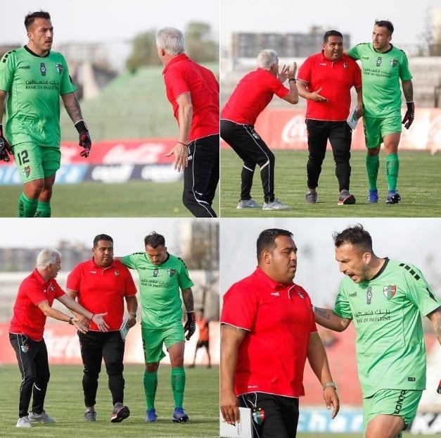 Kradiario-Deportes-Como un padre reprime a un hijo, Ivo Basay lo hizo con Fabian Cerda en el Palestino