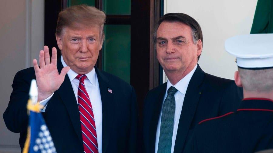 Trump y Bolsonaro son dos «ovejas negras» en el escenario mundial del coronavirus
