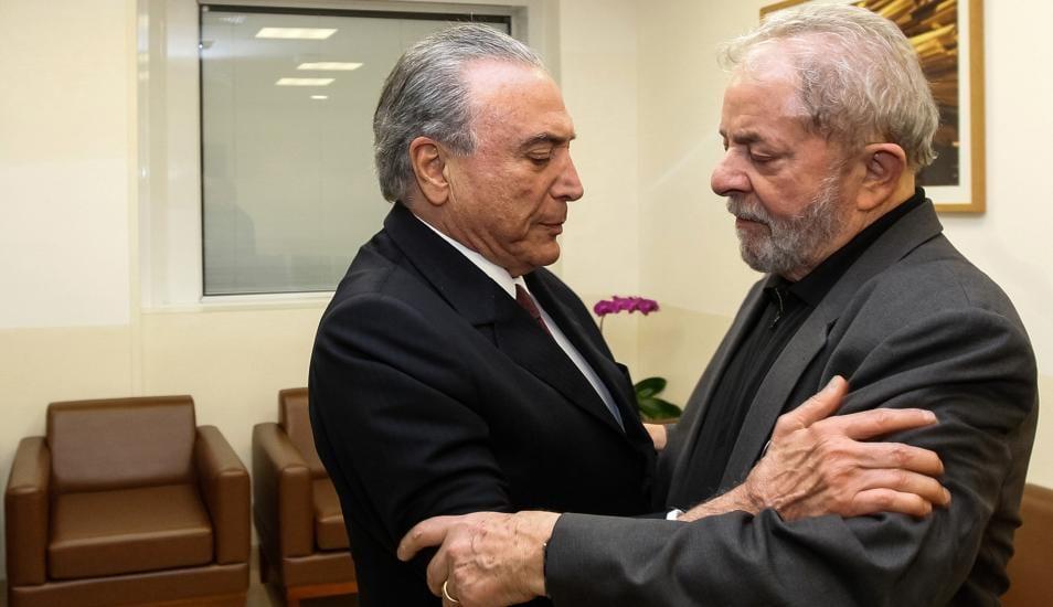 La corrupción en Brasil: Ex Presidente Temer acompañará en la cárcel a su enemigo político y también ex presidente Lula