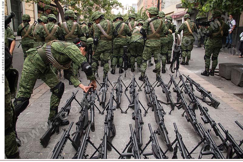 Conscriptos del Ejército con problemas psicológicos – No son aptos para asumir tareas para detener la violencia en  poblaciones