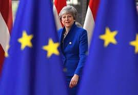La historia en blanco y negro del brexit de Theresa May