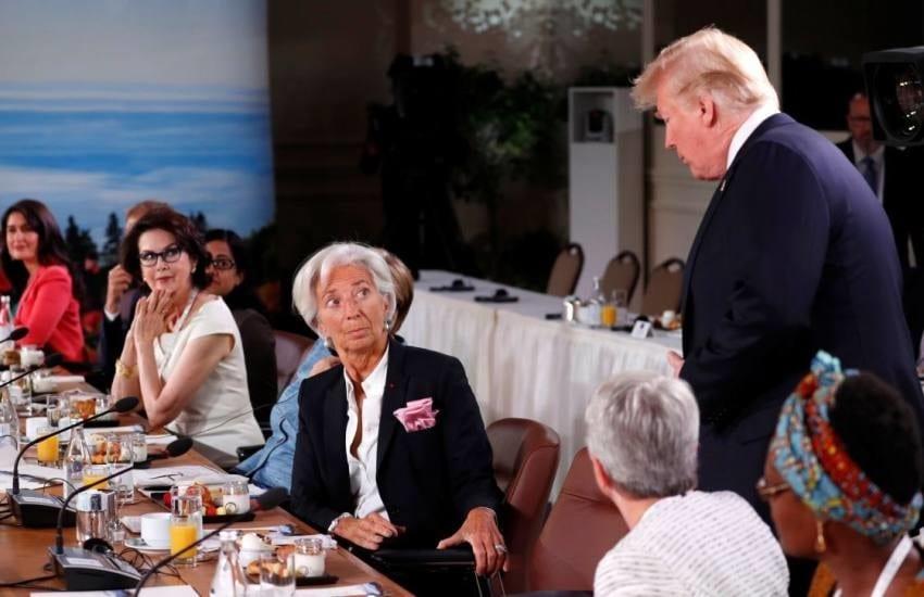 FMI ADVIERTE A TRUMP SOBRE LA GUERRA COMERCIAL Y DESTACA LA POBREZA EN EE UU QUE AFECTA A 45 MILLONES