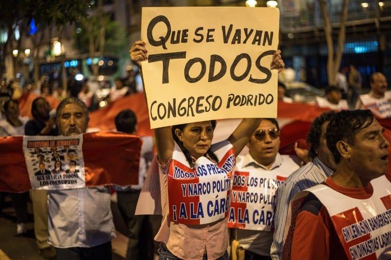 Perú: ¿Crisis de la representación o representación de la crisis?