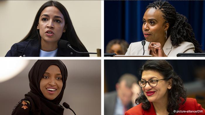 Grupo El Escuadrón de congresistas estadounidenses demócratas de origen extranjero.