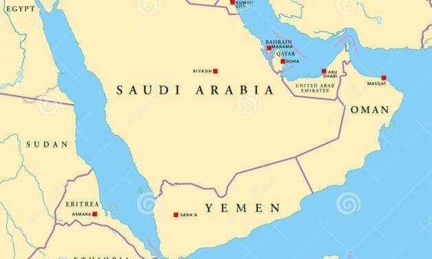 Nubes Borrascosas en el Golfo Pérsico