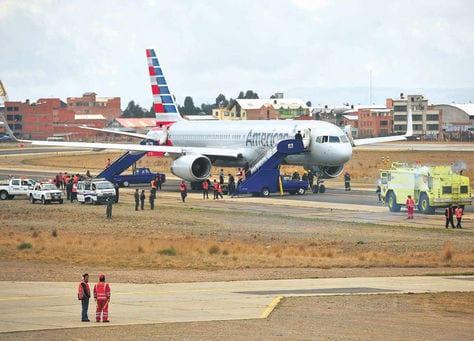 Suspensión de vuelos de American Airlines dejará a Bolivia más aislada del mundo