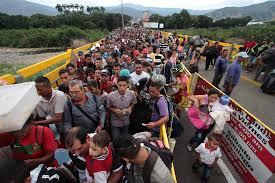 El drama de los refugiados en la frontera colombo-veenezolana