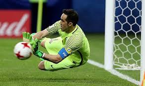 Bravo dio la seguridad necesaria de que el arco estaba en buenas manos en el partido con Argentina