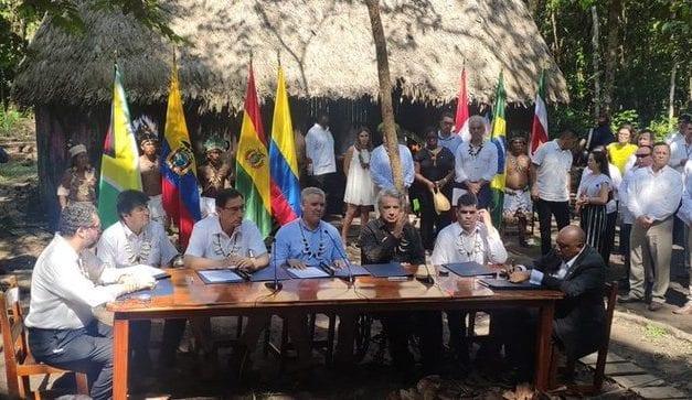 Aún no se apagan los incendios pero al menos hay ya un Pacto por la Amazonía