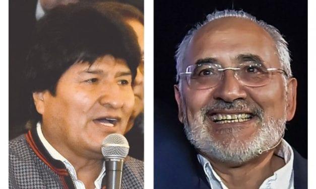 Habría segunda vuelta en la presidencial boliviana