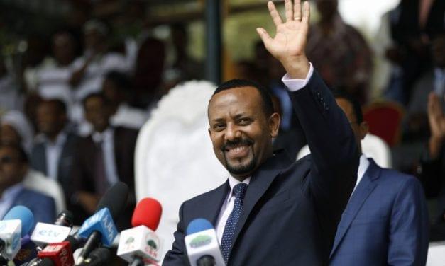 El etiope primer ministro Abiy Ahmed es el nuevo Premio Nobel de la PAZ