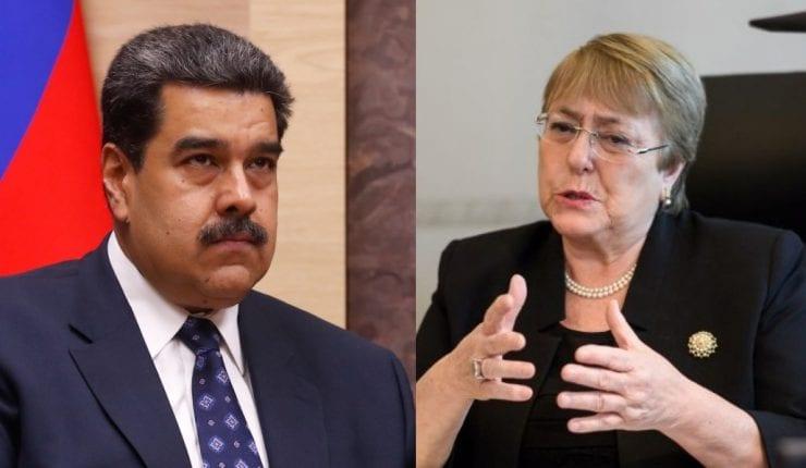 Bachelet saca el habla y cuenta desastres sobre el régimen de Maduro en Venezuela: 2.000 muertos sólo este año