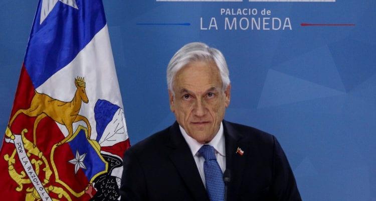 Piñera sigue a Insulza y a Desbordes en lo del «gran acuerdo nacional»
