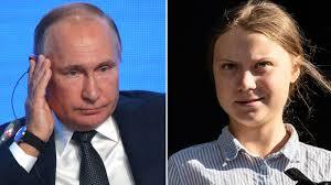 Putin: Greta Thunberg es una adolescente mal informada y utilizada por los adultos