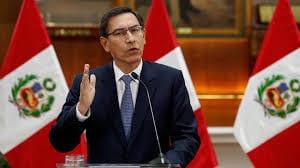 Perú: Presidente Martín Vizcarra anuncia disolución de Congreso de la República