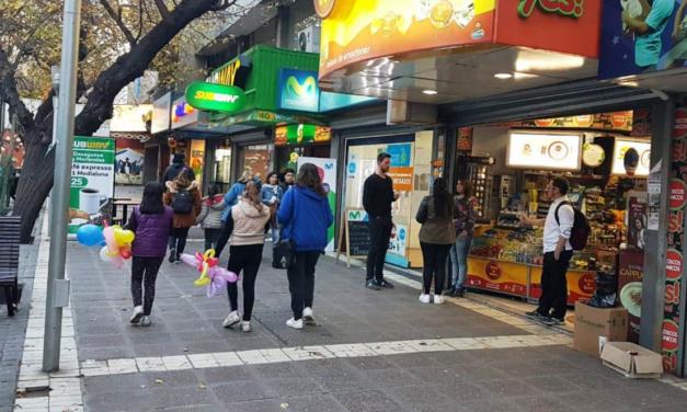 Caída de la economía mendocina en 11,72% afecta al comercio por el precio alto del dólar