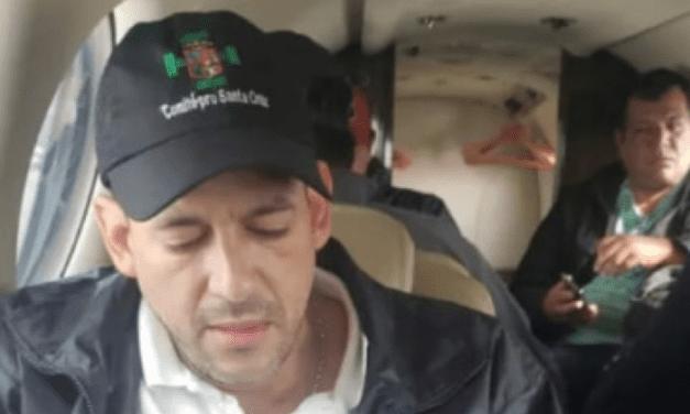 Bolivia: Líder cruceño Luis  Camacho intentó lograr la renuncia de Evo Morales pero fue devuelto a Santa Cruz