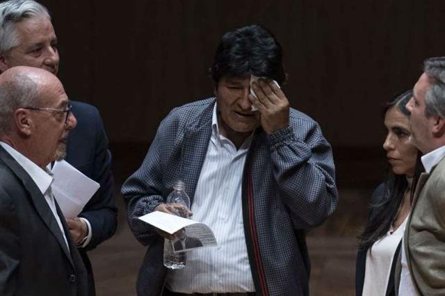 Evo Morales abucheado en México