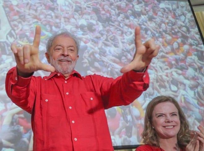 bolsonaro destruye brasil y fomenta el odio, denunció el excarcelado lula