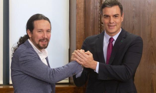 Difícil tarea para Pedro Sánchez en España con la izquierda de Podemos y el independentismo de Cataluña