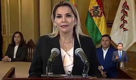Elecciones presidenciales bolivianas con nueva fecha y con una candidata que ya está en campaña: Jeanine Áñez