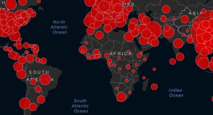 Así avanza el Covid-19 por el mundo – Estadística país por país del desastre