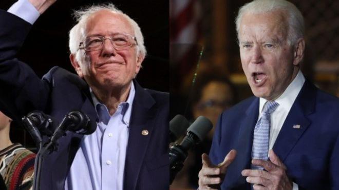 EE UU/primarias: Sanders se llevó el premio gordo del supermartes seguido de Biden
