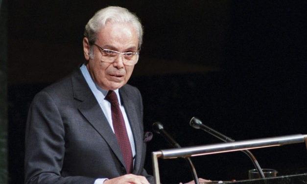 Murió Pérez de Cuéllar a los 100 años, el único latinoamericano que fue secretario general de la ONU