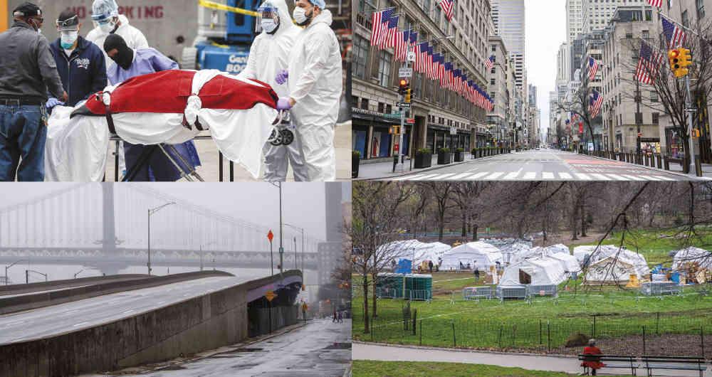 La pandemia no anula sólo al «tercer mundo» sino también al primero: La tragedia de Nueva York