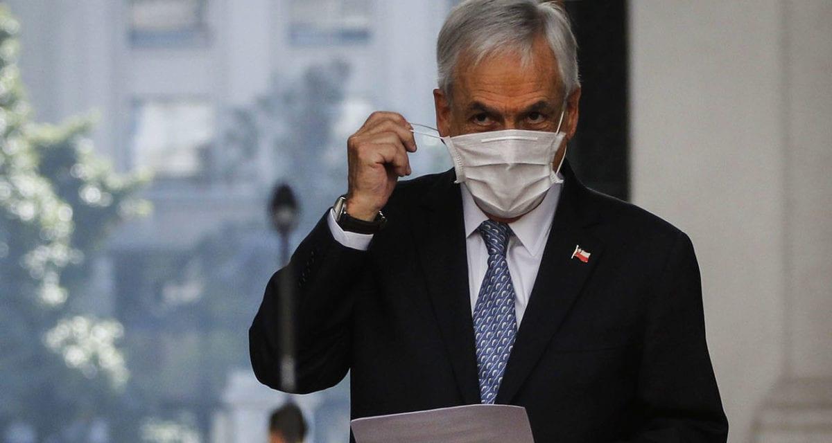 Piñera ya se ha recuperado del derrumbe en su aprobación en octubre