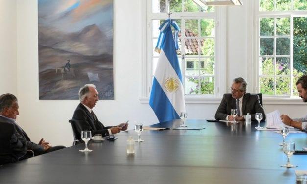 Empresarios argentinos se reunieron con el Presidente Fernández muy preocupados por la cuarentena