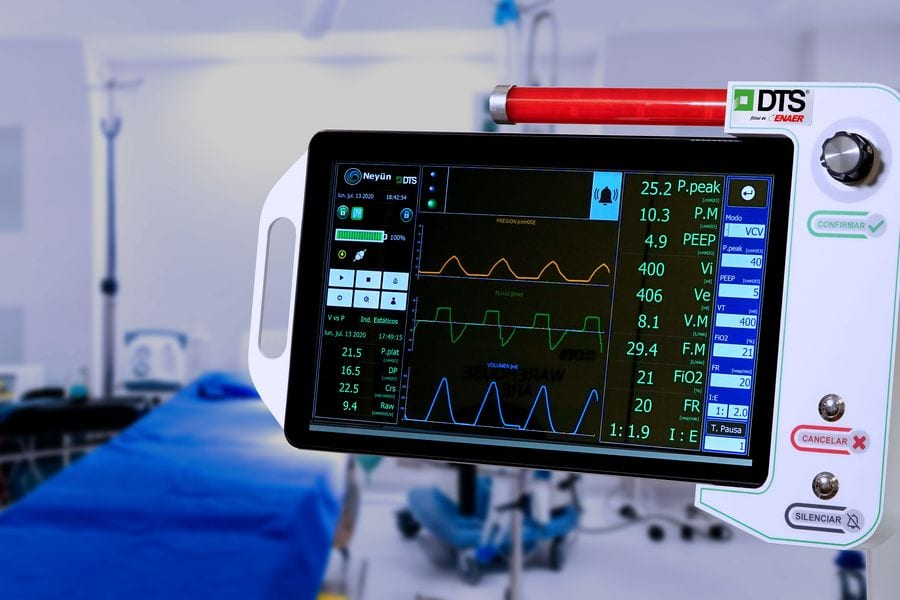 El mortal virus llevó a Chile a desarrollar cuatro fábricas de ventiladores para pacientes de covid-19