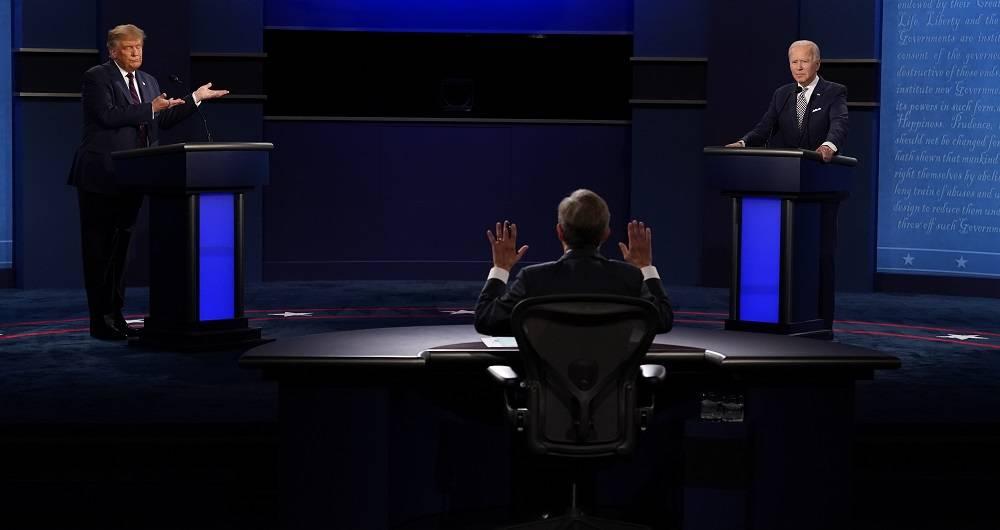 EE UU: Fue un debate que tuvo de todo: Sin apretón de manos como era tradicional, muy beligerante y con calificativos de «payaso o mentiroso»