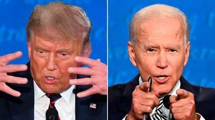 El debate Trump-Biden analizado con la mirada del diario The New York Times