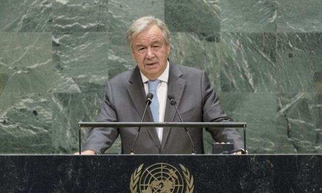 TRUMP APARTADO DE LA PAZ MUNDIAL ATACA DURAMENTE A CHINA EN LA ONU EN ACTO por ZOOM POR EL 75 ANIVERSARIO