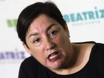 Beatriz Sánchez vuelve «al ruedo» de la política y dice que lo está pensando pero nada ha decidido sobre la presidencial