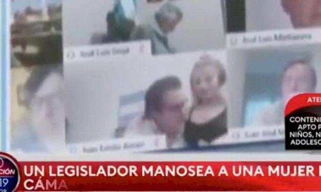 Otro escándalo parlamentario: Diputado argentino suspendido por protagonizar escenas sexuales en sesión virtual