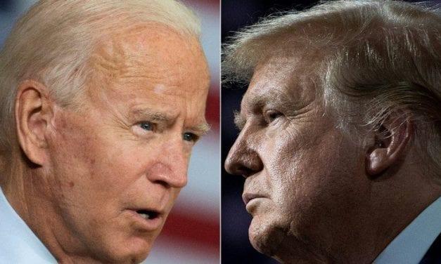 Página 12: Los improperios del primer debate entre Trump y Biden