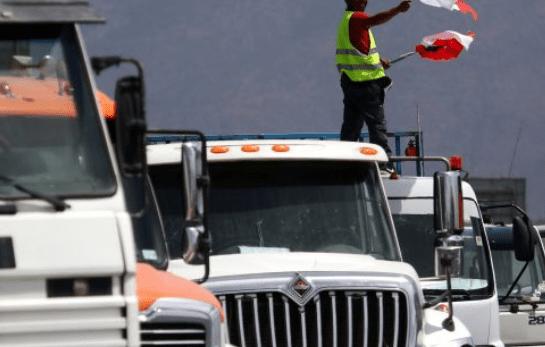 Gobierno cambia estrategia frente a los camioneros con la aplicación de medidas más enérgicas