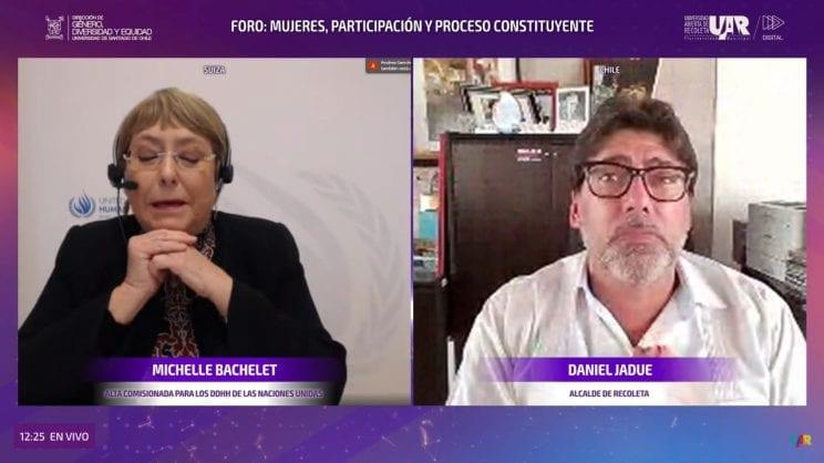 Intervención de Bachelet apoyando a Jadue sugirió la forma en que «hay que votar en el plebiscito»