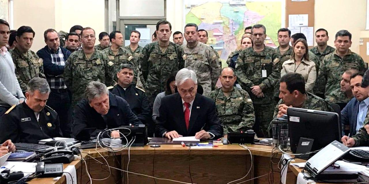 La «declaración de guerra de Piñera» de octubre de 2019 habría tenido su origen en un informe de inteligencia, al parecer falso