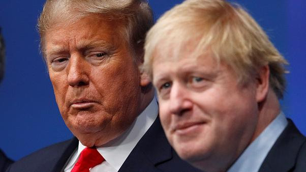 El fantástico plan de Boris Johnson con Trump para dominar el mundo cuelga de un hilo por encuestas que favorecen a Biden