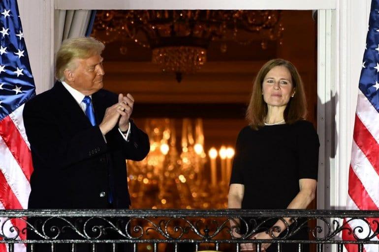 Puntos a favor de Trump: Senado confirmó designación de nueva jueza conservadora en la Corte Suprema de EE UU