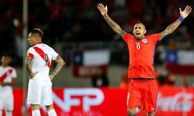 RUMBO A QATAR: CHILE 2 PERÚ 0  – VIDAL SUPERLATIVO…