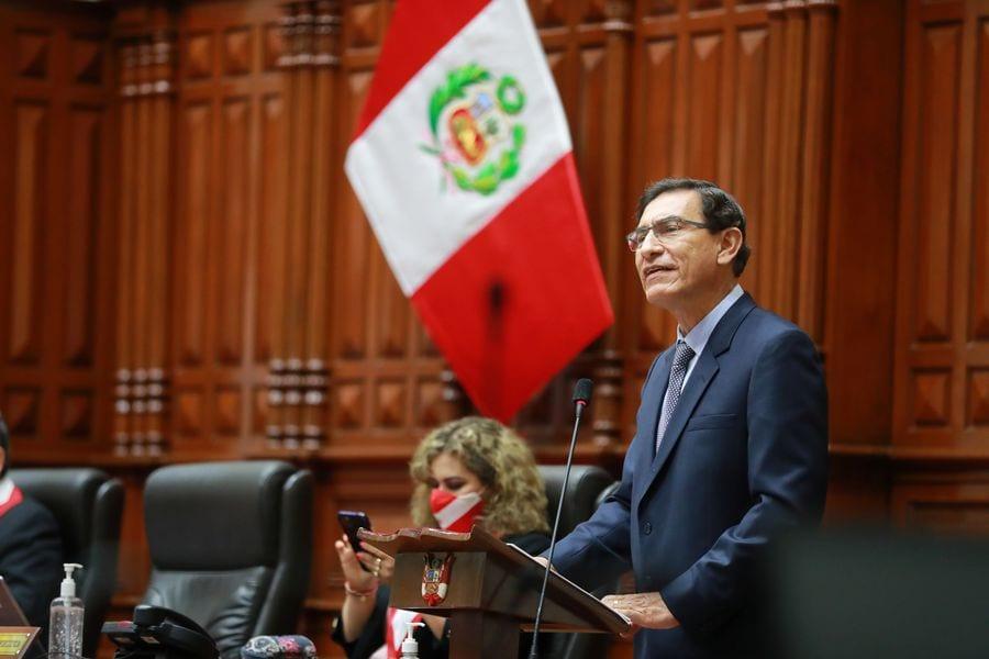 Presidente Martín Vizcarra fue destituido por el Congreso del Perú